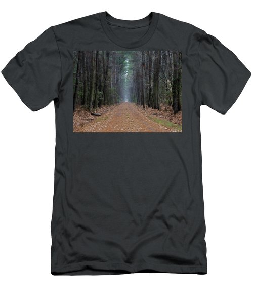 Men's T-Shirt (Slim Fit) featuring the photograph Loblolly Lane by Robert Geary