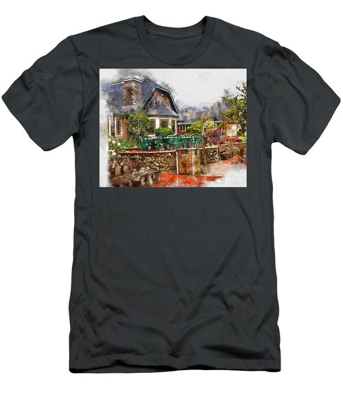Local Grill And Scoop Men's T-Shirt (Athletic Fit)