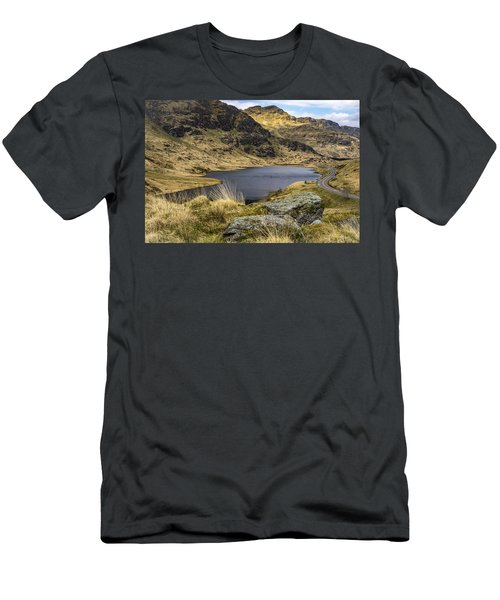Loch Restil From Rest And Be Thankful Men's T-Shirt (Athletic Fit)