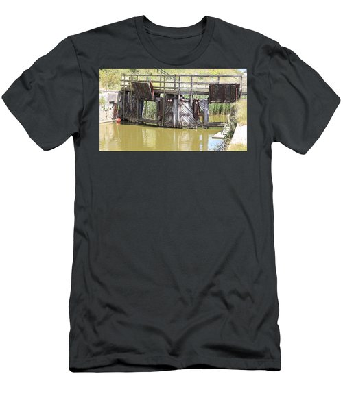 Lock Men's T-Shirt (Slim Fit) by Keith Sutton