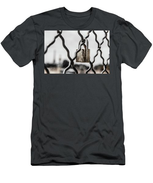 Locked In Paris Men's T-Shirt (Athletic Fit)