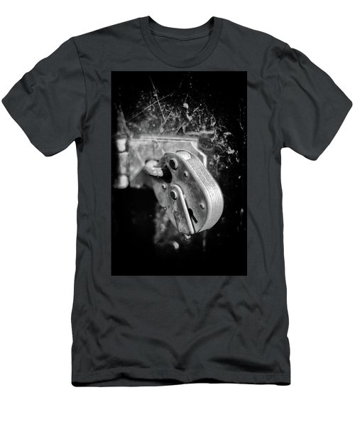 Men's T-Shirt (Athletic Fit) featuring the photograph Locked by Jeremy Lavender Photography