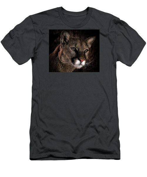 Men's T-Shirt (Slim Fit) featuring the photograph Locked Onto Prey by Elaine Malott