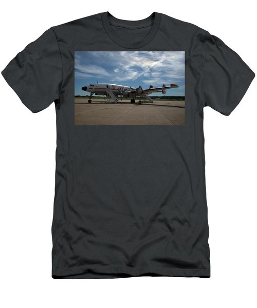 Lockheed Constellation Super G Men's T-Shirt (Athletic Fit)