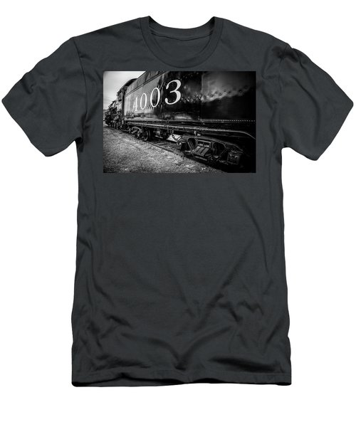 Locomotive Engine Men's T-Shirt (Athletic Fit)