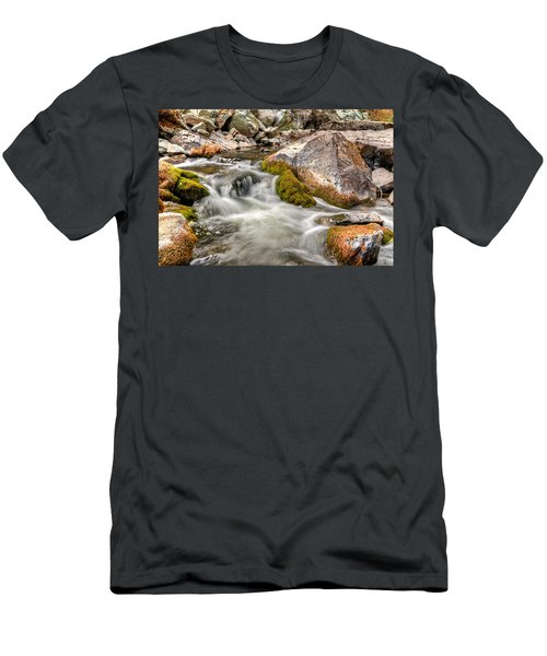 Logan Creek, Montana 2 Men's T-Shirt (Athletic Fit)