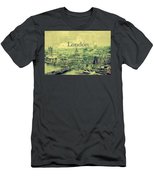 London Calling You Back Men's T-Shirt (Slim Fit) by Karen McKenzie McAdoo