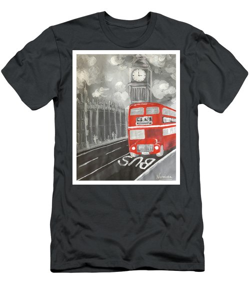 London City Abstract Men's T-Shirt (Athletic Fit)
