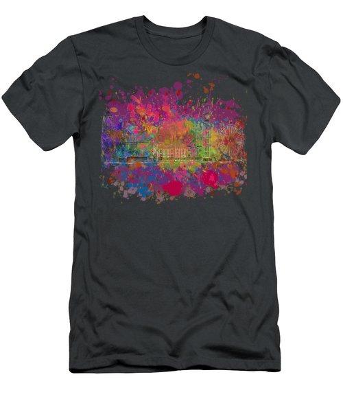 London Colour Men's T-Shirt (Slim Fit) by Dave H
