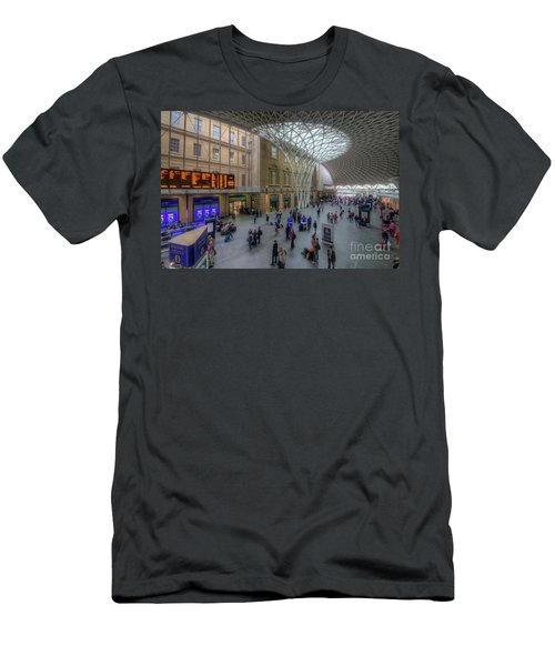 Men's T-Shirt (Slim Fit) featuring the photograph London King's Cross by Yhun Suarez