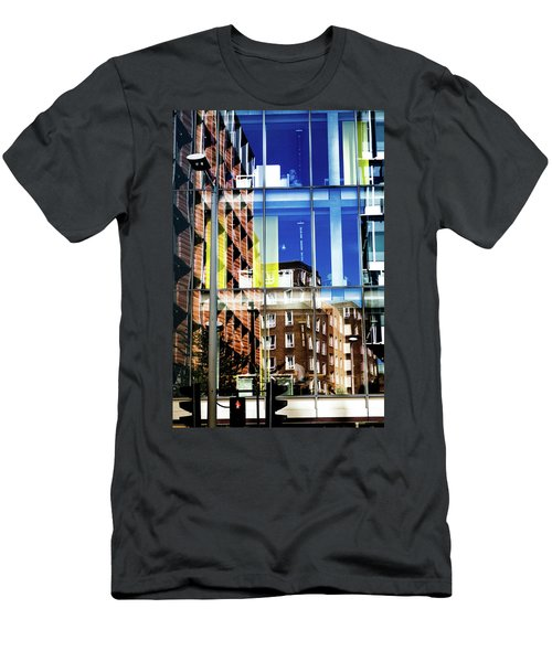 London Southwark Architecture 2 Men's T-Shirt (Slim Fit) by Judi Saunders