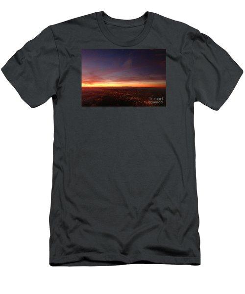 London Sunset Men's T-Shirt (Athletic Fit)