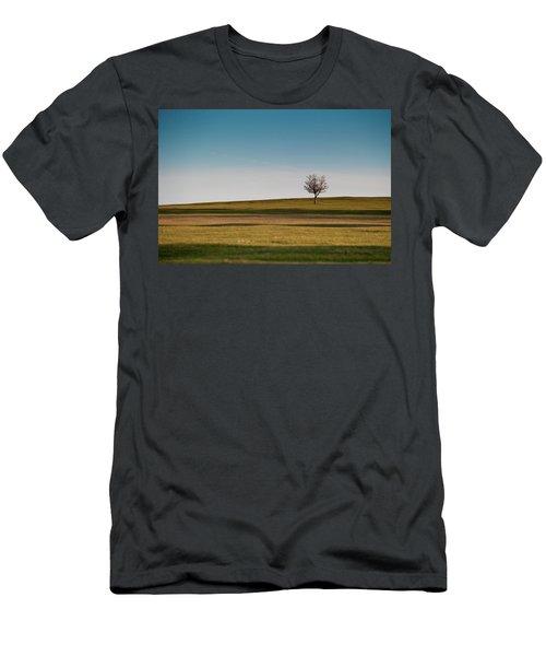 Lone Hawthorn Tree II Men's T-Shirt (Athletic Fit)