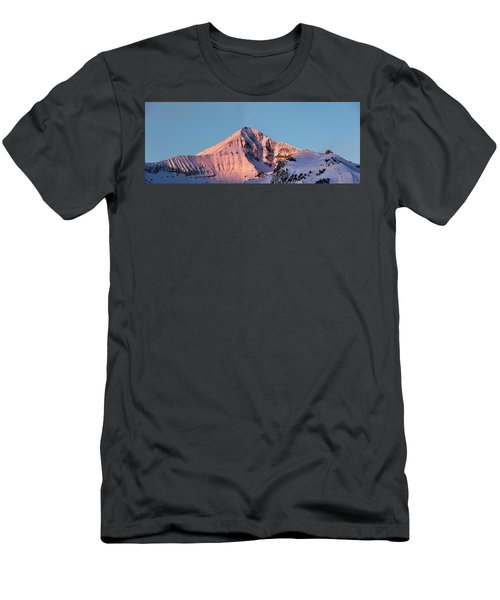 Lone Mountain Alpenglow Panoroama Men's T-Shirt (Athletic Fit)