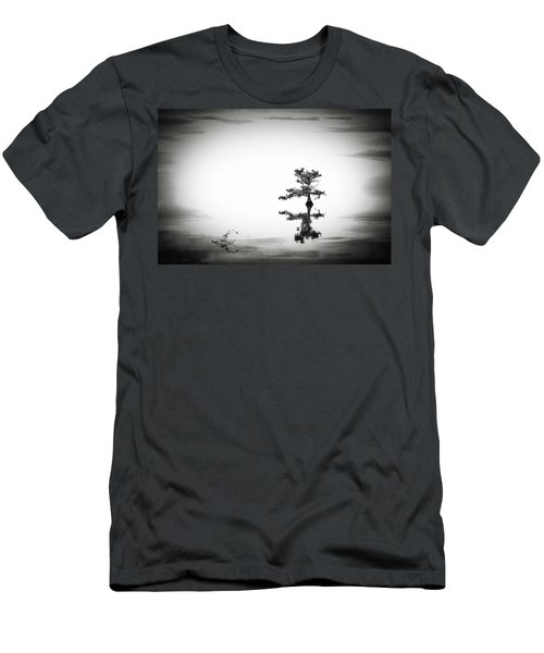 Men's T-Shirt (Slim Fit) featuring the photograph Loneliness by Eduard Moldoveanu