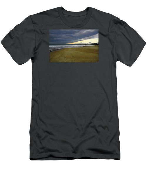 Lonely Beach Men's T-Shirt (Athletic Fit)