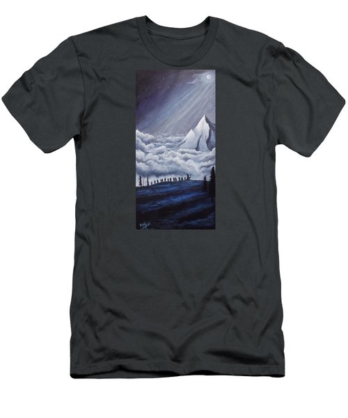 Lonely Mountain Men's T-Shirt (Athletic Fit)