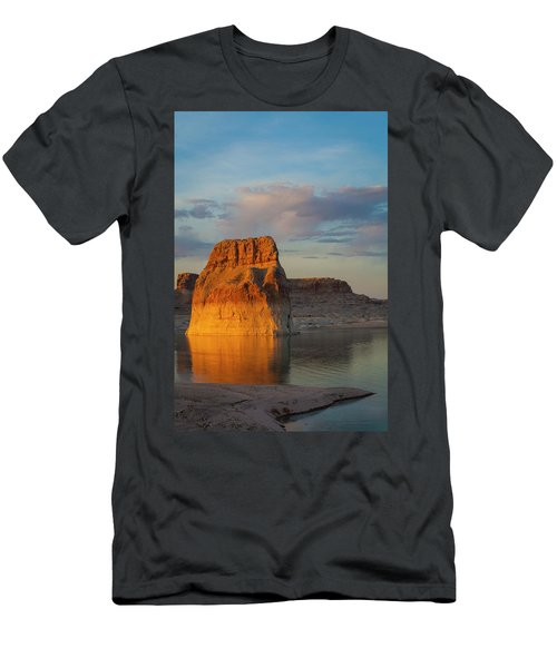 Lonely Rock Men's T-Shirt (Slim Fit) by David Cote