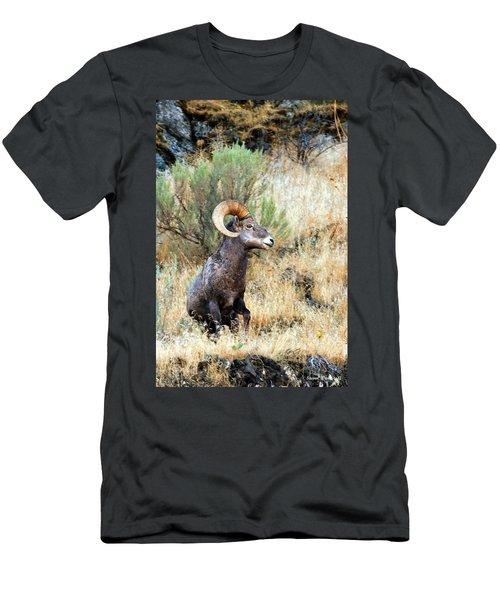 Loner Iv Men's T-Shirt (Slim Fit) by Steve Warnstaff