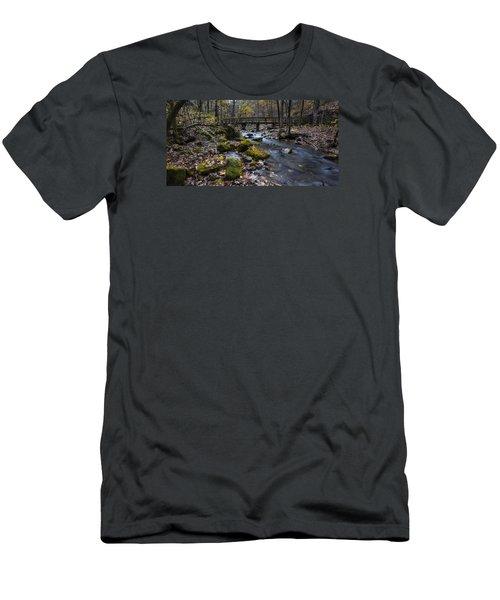 Lonesome Bridge Men's T-Shirt (Athletic Fit)
