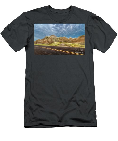 Lonesome Highway Men's T-Shirt (Athletic Fit)