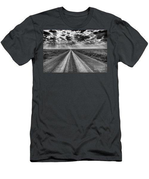 Long And Lonely Men's T-Shirt (Athletic Fit)