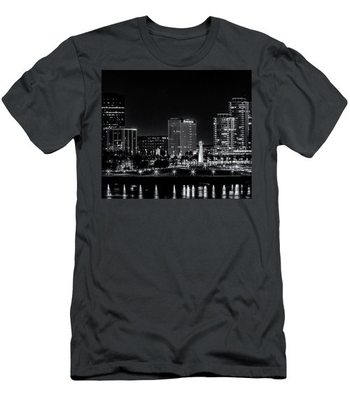 Long Beaach A Chip In Time Men's T-Shirt (Athletic Fit)