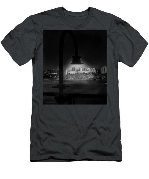 Long Beach Noir Men's T-Shirt (Athletic Fit)