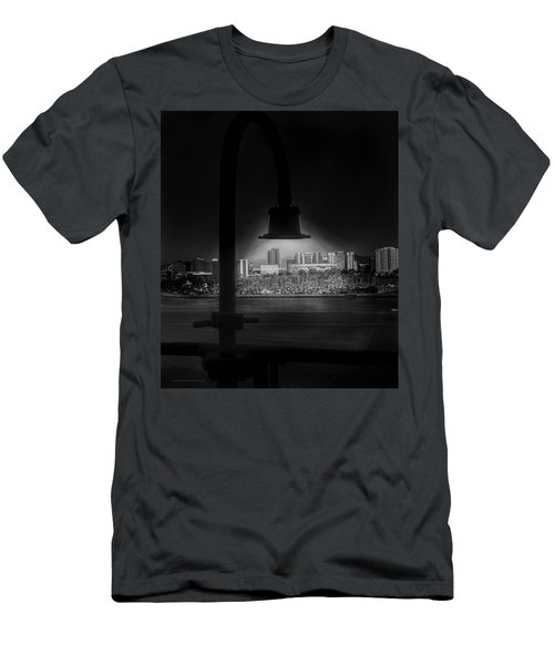 Long Beach Noir Men's T-Shirt (Athletic Fit)