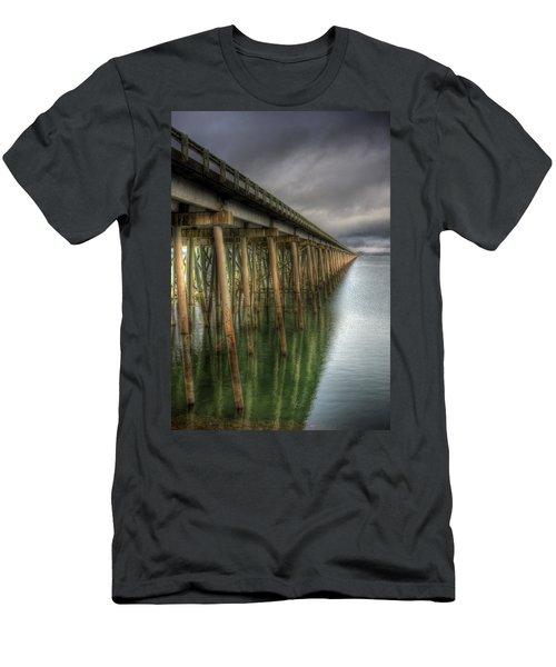 Long Bridge  Men's T-Shirt (Athletic Fit)