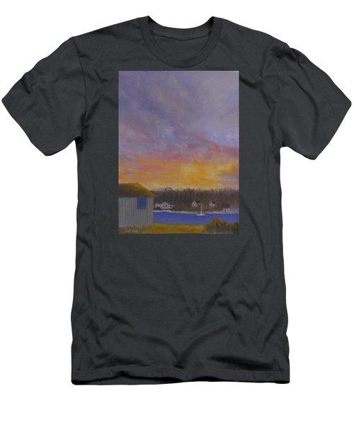 Long Cove Sunrise Men's T-Shirt (Athletic Fit)