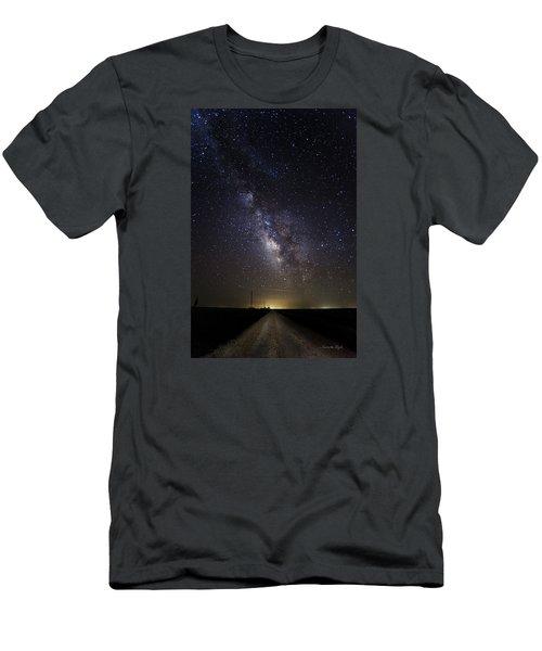 Long Road To Eden Men's T-Shirt (Slim Fit) by Karen Slagle