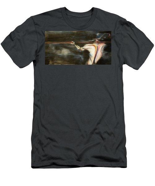 Long Shot Men's T-Shirt (Athletic Fit)