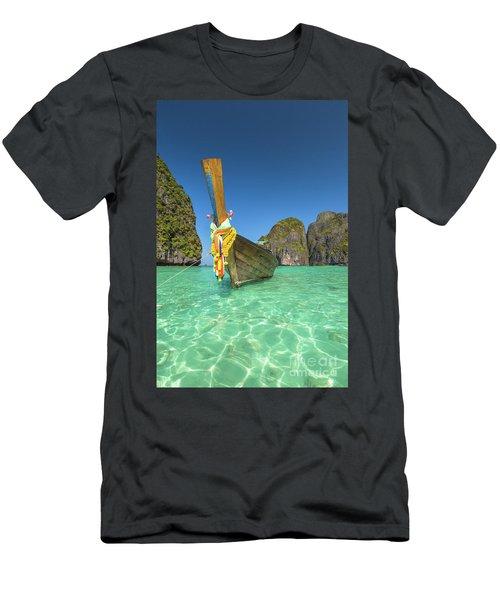 Long Tail Bot Men's T-Shirt (Athletic Fit)