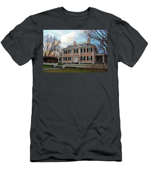 Longfellow House At Sunset Men's T-Shirt (Athletic Fit)