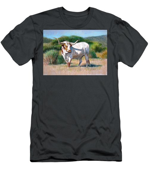 Longhorn Bull Men's T-Shirt (Athletic Fit)