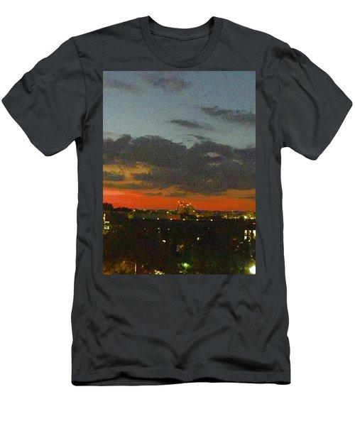 Longhorn Dusk Men's T-Shirt (Athletic Fit)