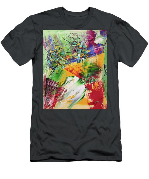 Looking Beyound The Present Men's T-Shirt (Athletic Fit)