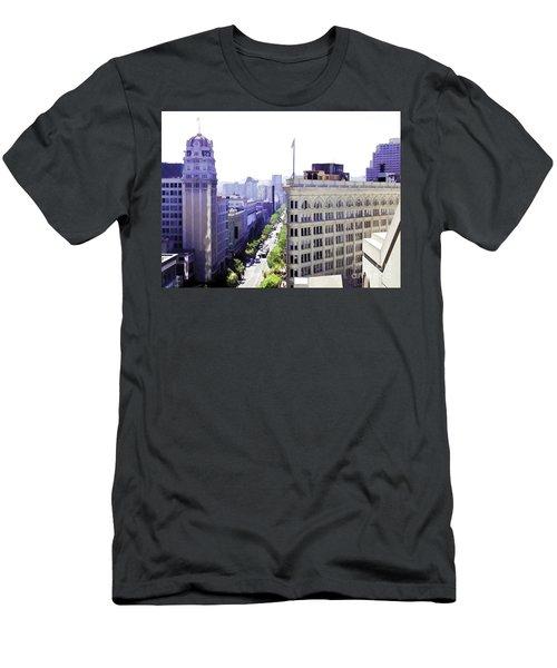 Looking Down Market Men's T-Shirt (Athletic Fit)