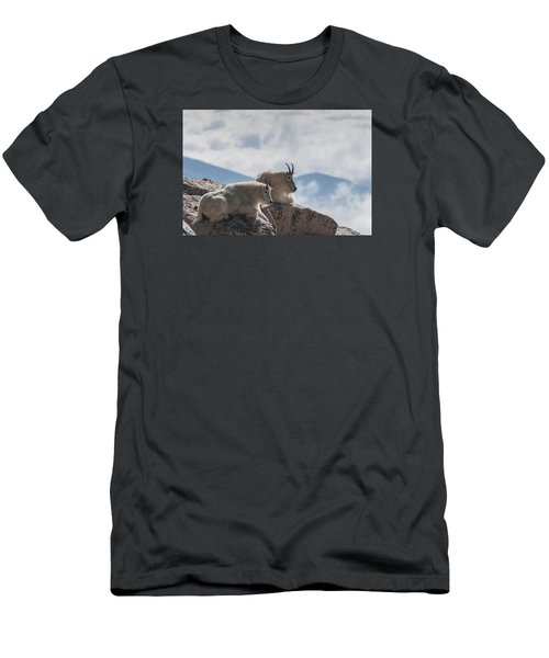 Looking Down On The World Men's T-Shirt (Slim Fit) by Gary Lengyel