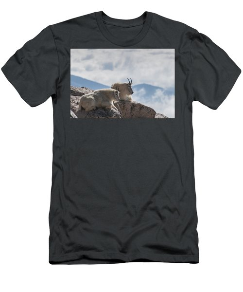 Looking Down On The World Men's T-Shirt (Athletic Fit)