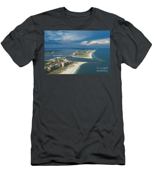 Looking East Across Perdio Pass Men's T-Shirt (Athletic Fit)