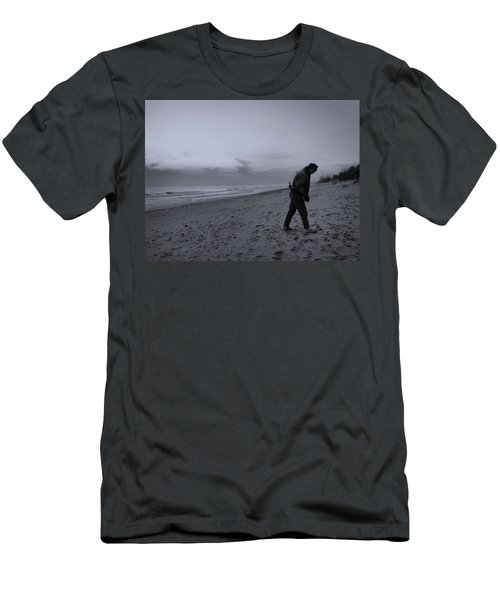 Looking For A Smooth Stone  Men's T-Shirt (Athletic Fit)