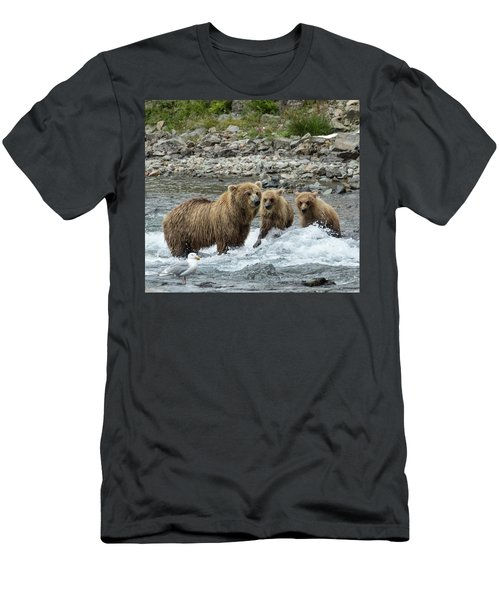 Looking For Sockeye Salmon Men's T-Shirt (Athletic Fit)
