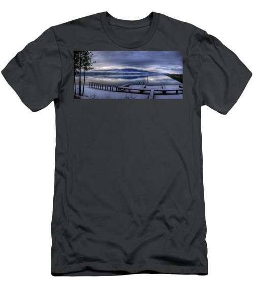 Looking North From 41 South Men's T-Shirt (Athletic Fit)