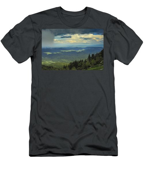 Looking Over The Valley Men's T-Shirt (Athletic Fit)