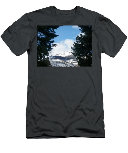 Men's T-Shirt (Slim Fit) featuring the photograph Looking Through by Jewel Hengen