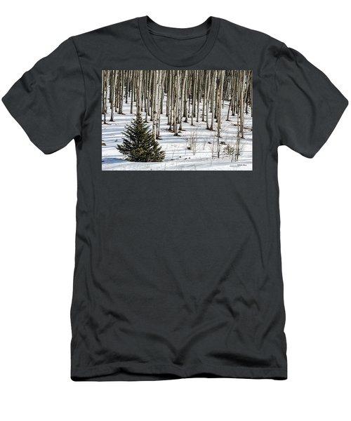 Looking Through The Aspen Men's T-Shirt (Athletic Fit)