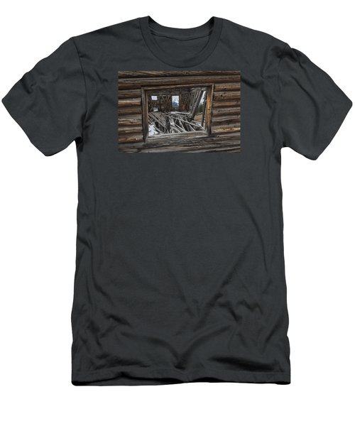 Looking Through Time Men's T-Shirt (Athletic Fit)