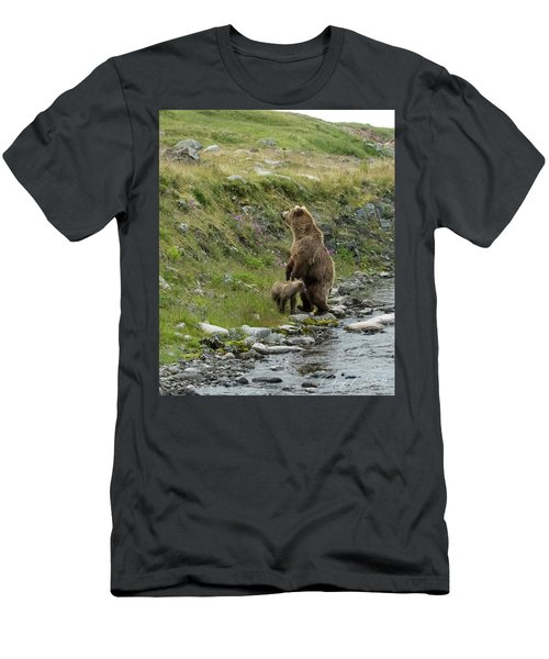 Looking Up The Bluff Men's T-Shirt (Athletic Fit)
